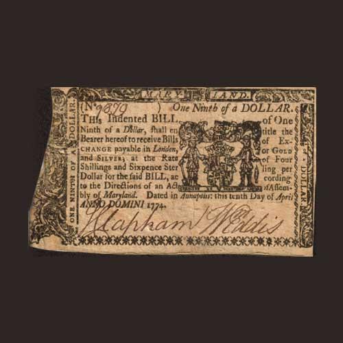 Weird-Maryland-dollar-bill
