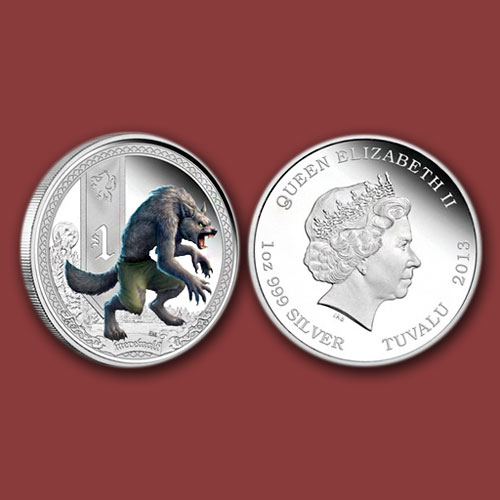 Werewolf-on-silver-coin
