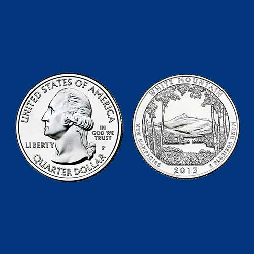 White-Mountain-National-Forest-Quarter-Dollar