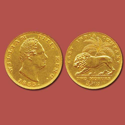 William-IV-Gold-2-Mohurs-Sold-For-INR-10,00,000
