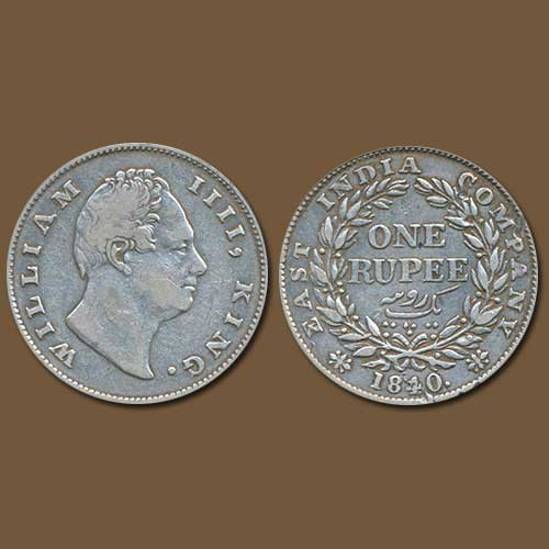 William-IV-Silver-Rupee-Listed-For-INR-6,00,000