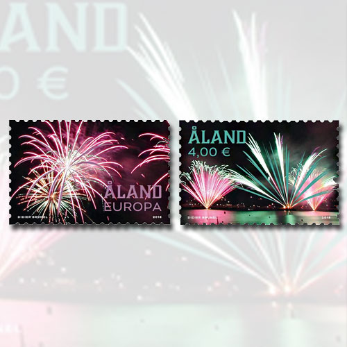 World-class-firework-on-Aland-Stamp