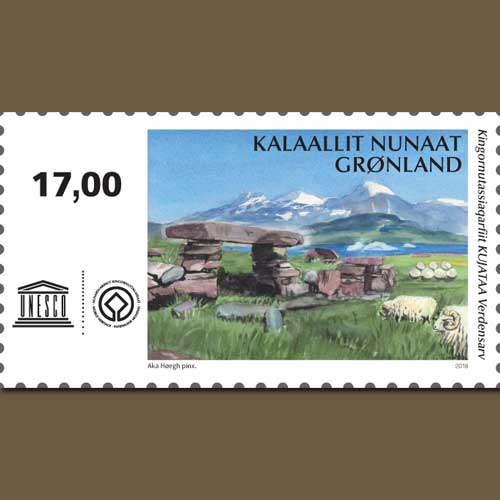 World-heritage-site-of-UNESCO-appeared-on-stamps