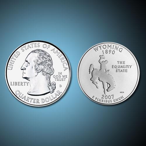 Wyoming-State-Quarter-Dollar