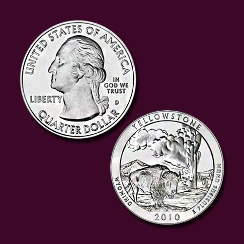 Yellowstone-National-Park-Quarter-Dollar
