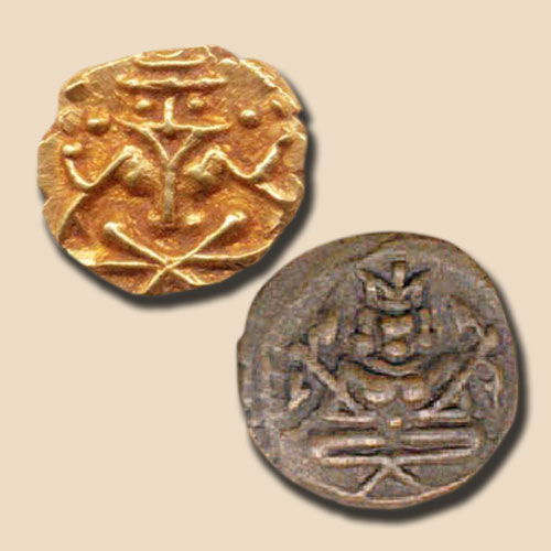 Yoga-Narasimha-on-Coins