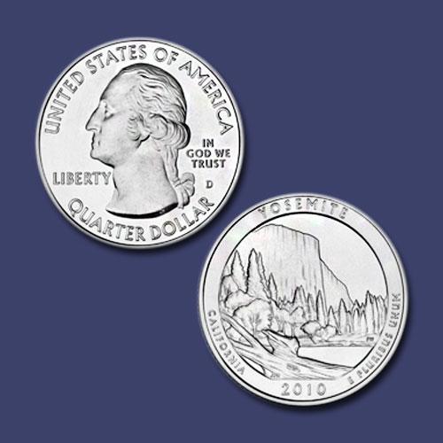 Yosemite-National-Park-Quarter-Dollar