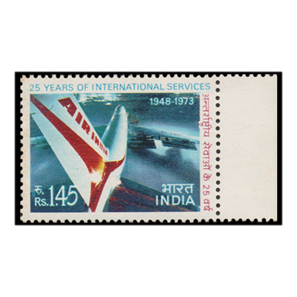 Air - India  International Services Stamp