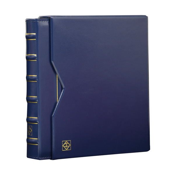 Lighthouse Ringbinder VARIO - in classic design incl. Slipcase - Blue