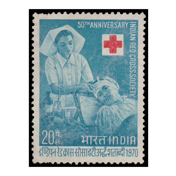 Buy Indian Red Cross Society Stamp Online Mintage World