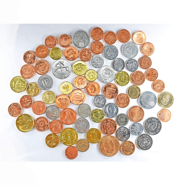 Assorted Coin Collection of 50 Different Countries