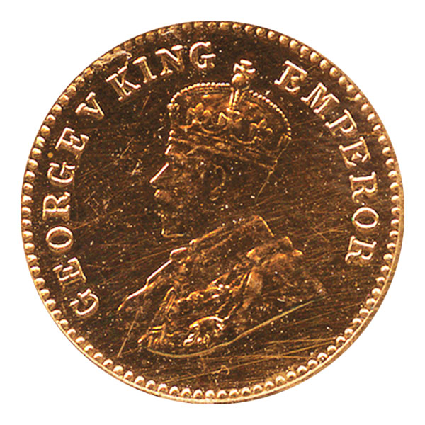 British India King George V 1/12 Anna 1932 Calcutta