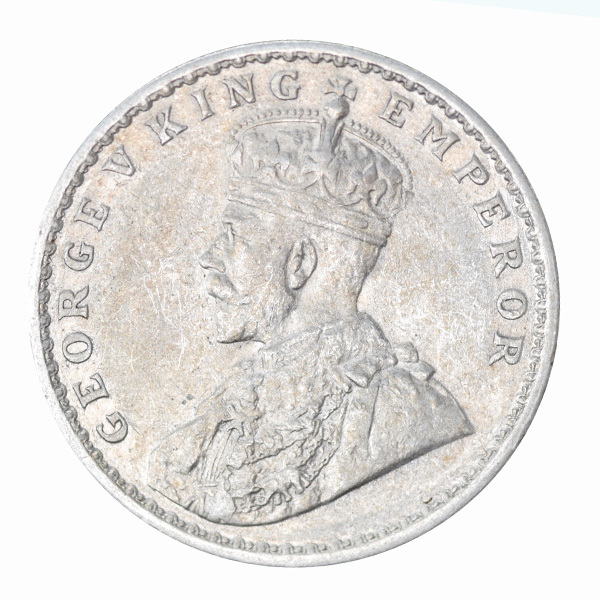 British India King George V One Rupee 1913 Calcutta