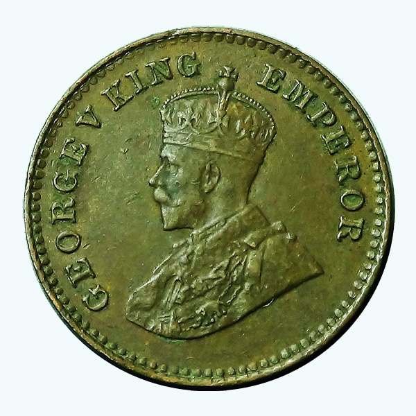 British India King George V 1/12 Anna 1925 Mumbai