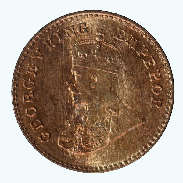 British India King George V 1/12 Anna 1927 Mumbai