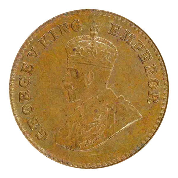 British India King George V 1/12 Anna 1924 Mumbai