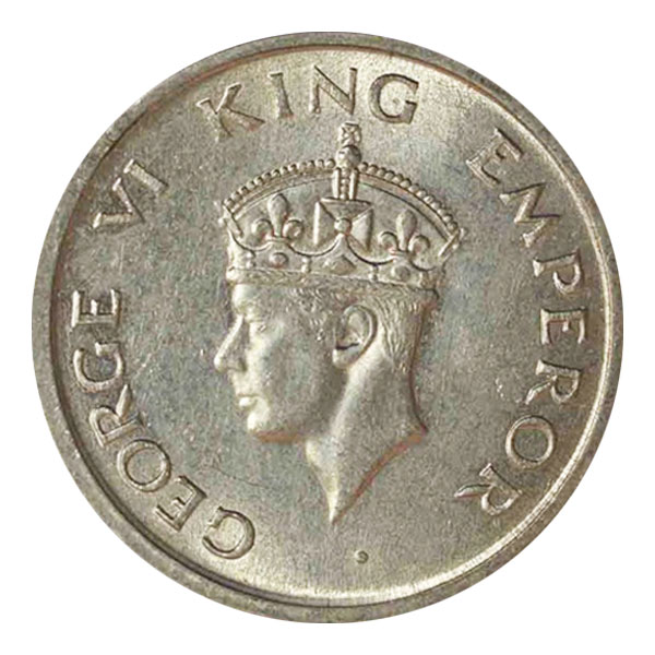 British India King George VI One Rupee 1947 Mumbai