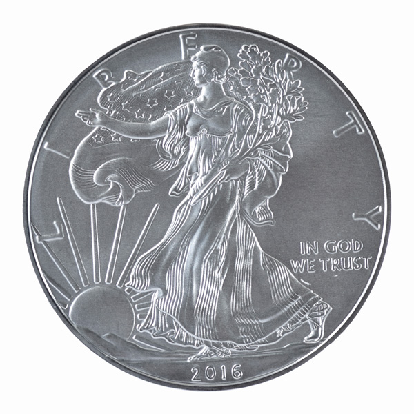 American Eagle 2016 One Ounce Silver Uncirculated Coin  WEST POINT