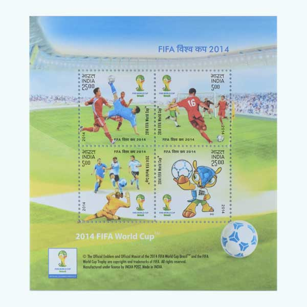 Fifa World Cup Miniature Sheet Stamp