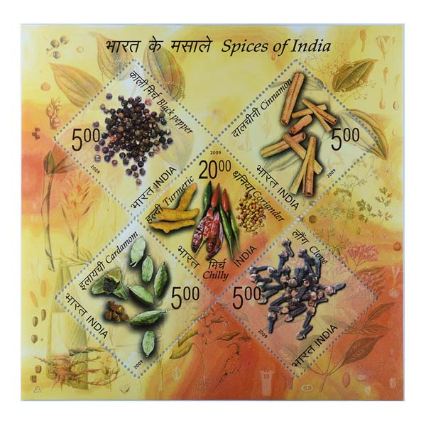 Spices Of India Miniature Sheet - 2009