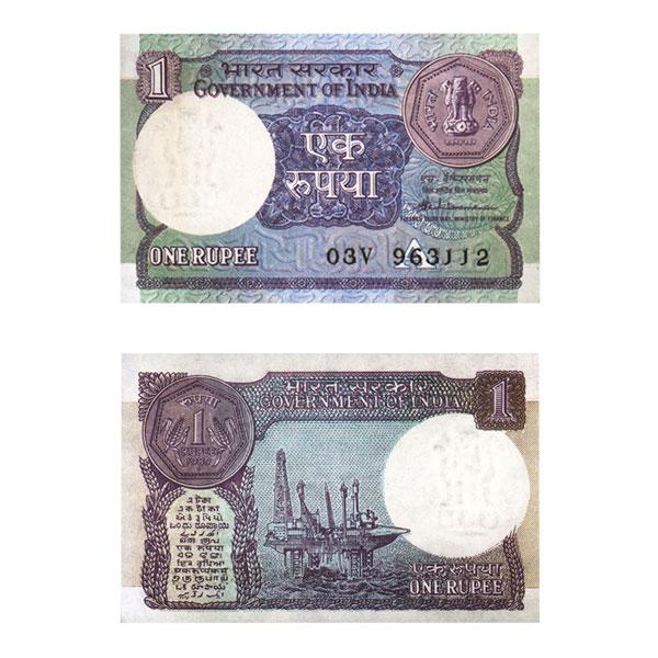 1 Rupee Note of 1989- S.Venkitaramanan