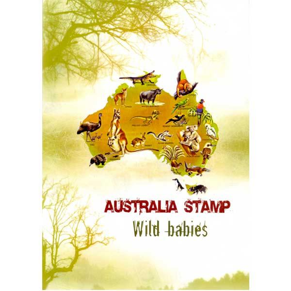 Australia Wild Babies Stamps