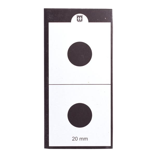 Mintage World 2x2 Cardboard Flip Coin Holder 20 mm