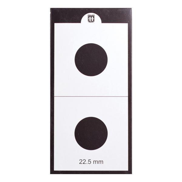 Mintage World 2x2 Cardboard Flip Coin Holder 22.5 mm