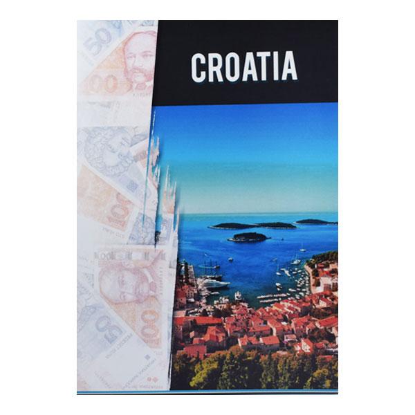 Set of 5 Croatia Currency Notes - Dinara
