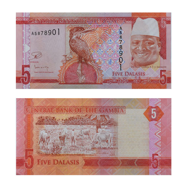 Gambia Note