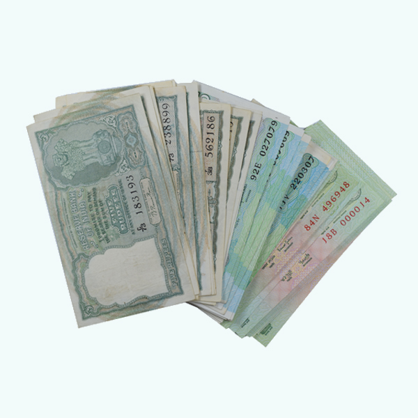 Signature Collection Note - 5 Rupees