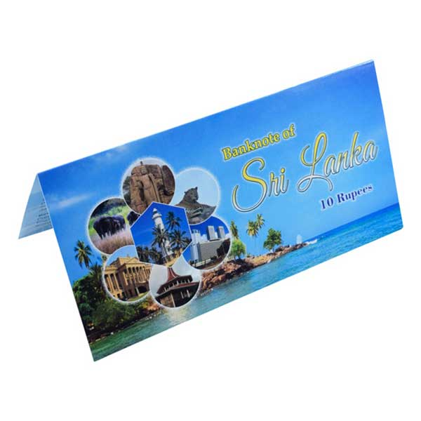 Sri Lanka Description Card