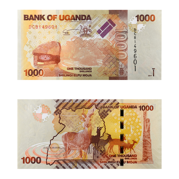 Ugandan 1000 shilling