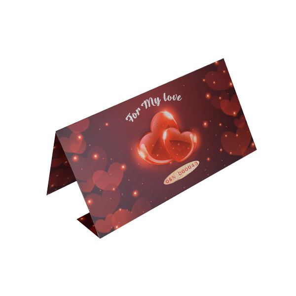 Valentine Card - Red