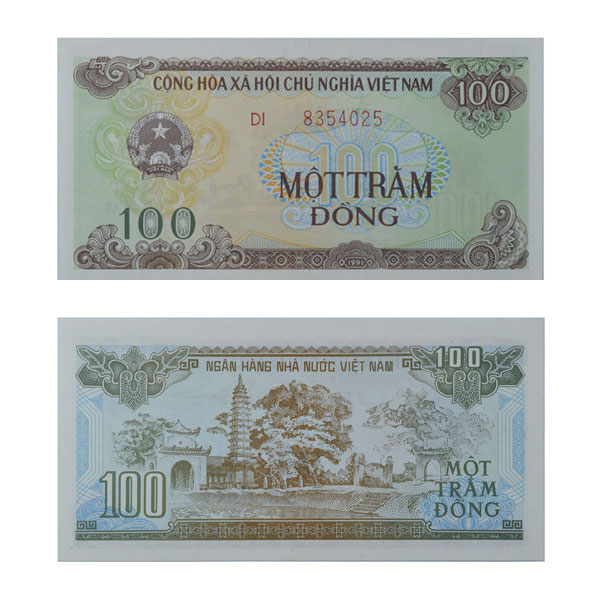 Vietnam Currency Note 100 Dong
