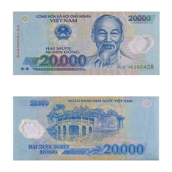 Vietnam 20000 dong Note