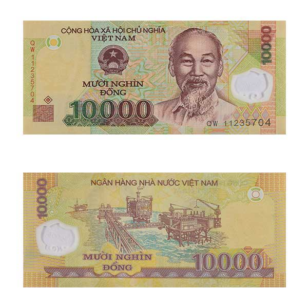 Vietnam Currency Note 10000 dong