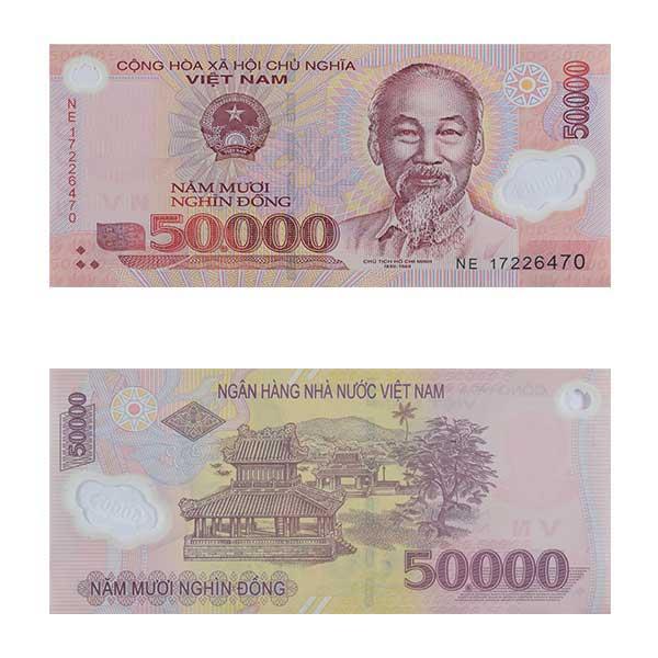 Vietnam 50,000 dong Note
