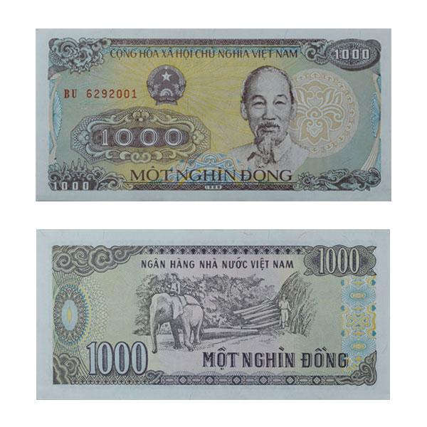 Vietnam 1000 Dong Note
