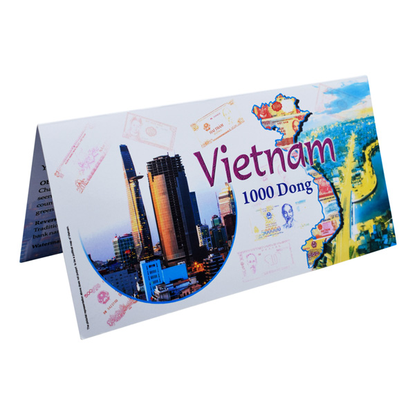 Vietnam Description Card - 1000 Dong