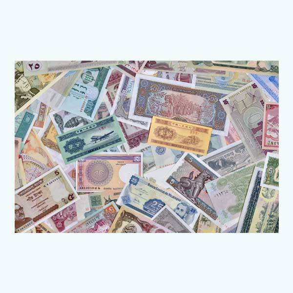 World 50 Assorted Currency Note - Set 2