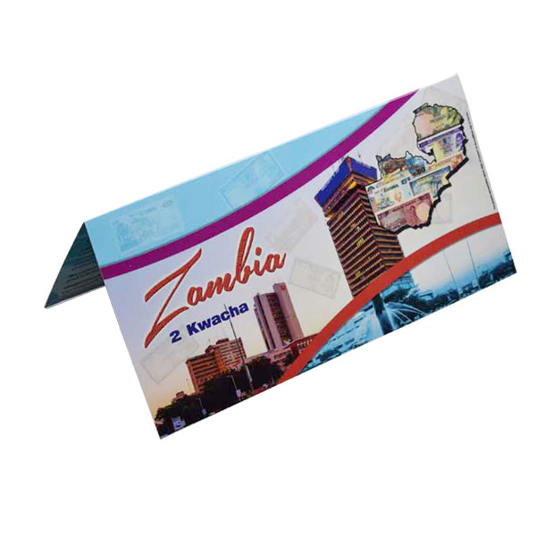 Zambia Description Card - 2 Kwacha