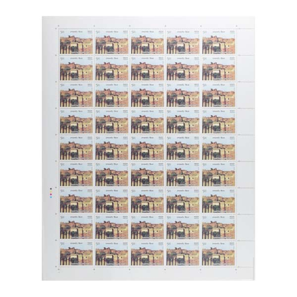 Ranthambore Fort Full Stamp Sheet 5Rs - 2018
