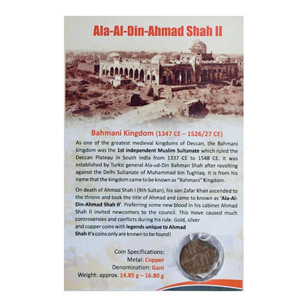 Bahmani Sultanate Coin - Gani
