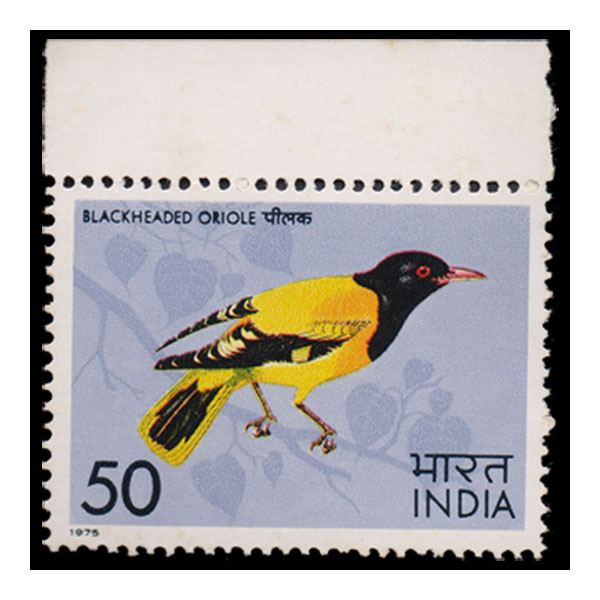 Blackheaded oriole Stamp