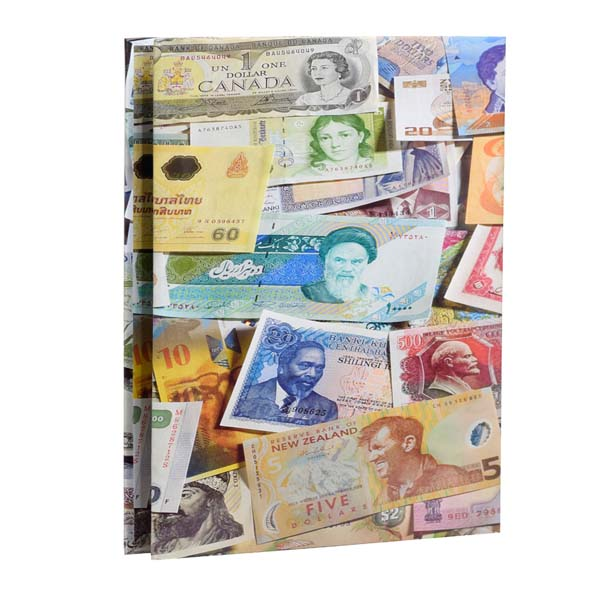 Lighthouse currency album for 300 banknotes