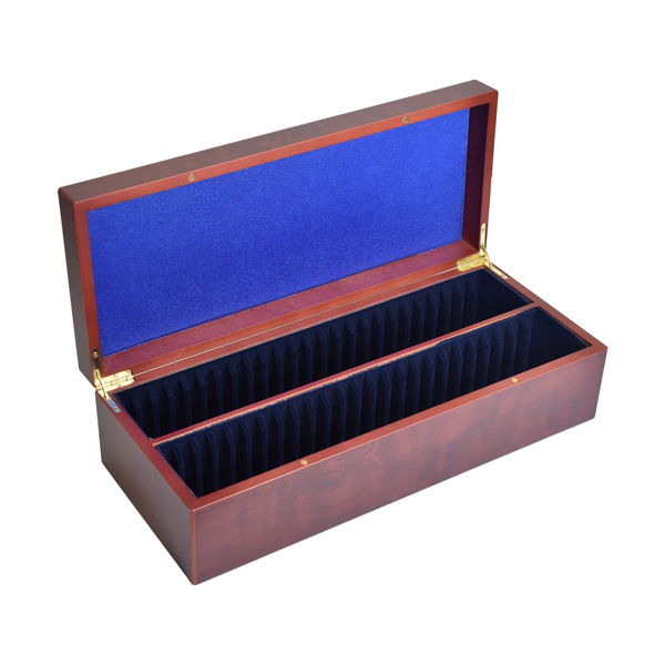 Lighthouse Coin case for 50 certified coin holders - slabs