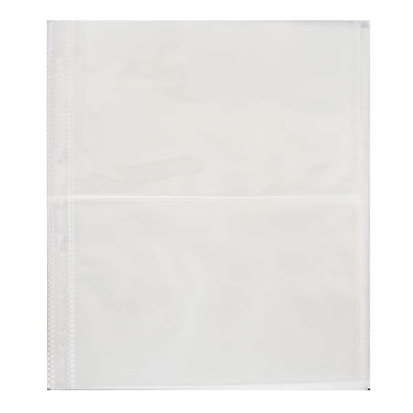 Lighthouse Plastic Sheets- 2 Horizontal Pockets- Pack of 50