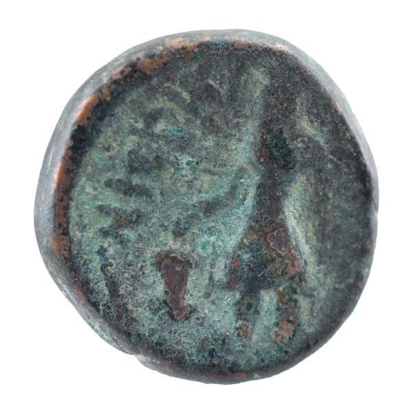 Kushan Dynasty- Tetradrachm of Kanishka I- Oesho Type