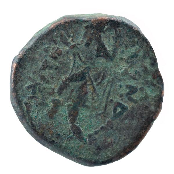 Kushan Dynasty- Tetradrachm of Kanishka I- Athsho Type